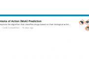 Kaggle「MoA」で4位入賞、Masterの称号を獲得しました